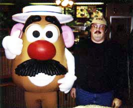 100% Mr. Potato head Approved!